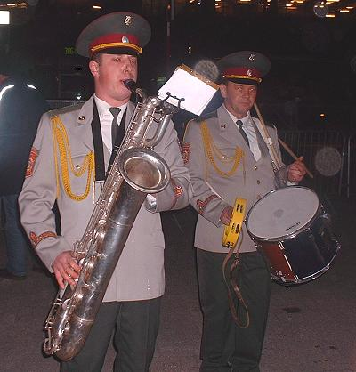 Internationale Musikparade 2006 in Hamburg - Militärorchester Odessa